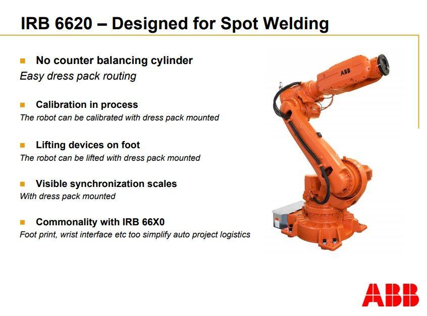Braço 3D Robótico ABB com sistema Baisheng Laser para solda e corte de tubos e chapas